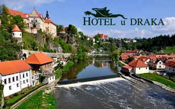Lázeňský pobyt s procedurami a polopenzí v Hotelu U Draka pro 2 osoby