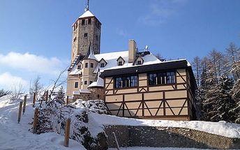 Liberecká výšina s polopenzí a vstupenkami na horskou rozhlednu pro dva