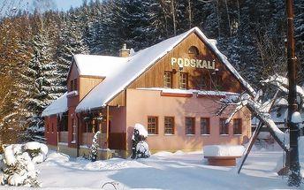 3–6denní pobyt s polopenzí v penzionu Podskalí u Adršpachu pro 2 osoby