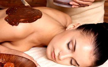 Čokoládová masáž v masážním salonu Veronika v centru Plzně v délce 90 minut.