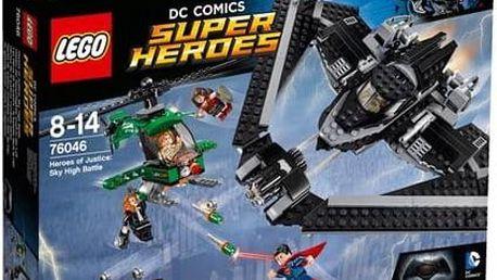 Stavebnice Lego® Super Heroes 76046 Hrdinové spravedlnosti: souboj vysoko v oblacích