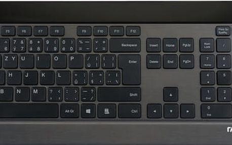 Rapoo 8900P, bezdrátový set, černý, CZ - 6943518921280