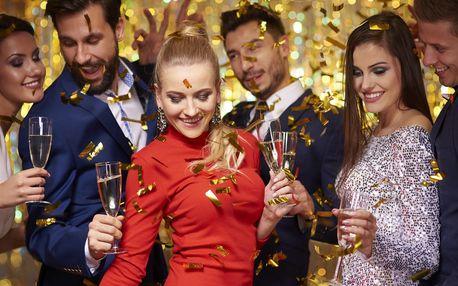 Silvestrovská párty včetně rautu na Výšině