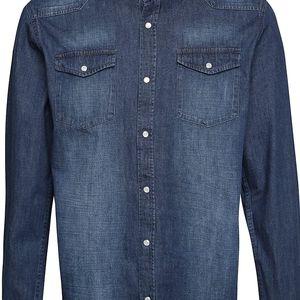 Modrá denimová košile Shine Original