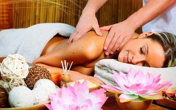 Thajská masáž v novém salonu a infrasauna