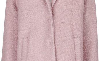 Růžový kabát Alchymi Rees