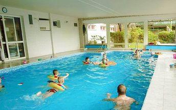 3–6denní pobyt s polopenzí a bazénem pro 2 nedaleko Tábora v Parkhotelu Mozolov