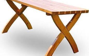Stůl Rojaplast Strong Masiv dřevo