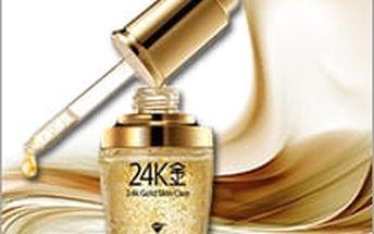 Luxusní Zlaté sérum pro omládnutí vaší pleti! Regenerujte svou pleť s 24 karátovým zlatem se slevou 76%!