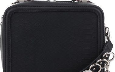 Černá crossbody kabelka s přívěskem ALDO Olilisien