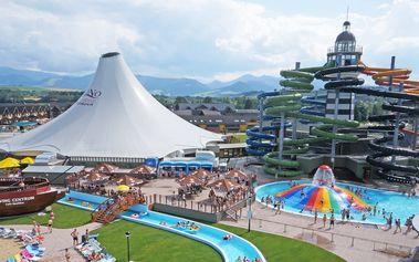 Ubytování v aquaparku Gino Paradise Bešeňová + 20% sleva do areálu