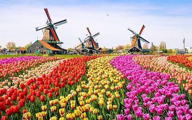 4denní poznávací zájezd do Holandska s návštěvou Keukenhofu a Amsterdamu pro 1 osobu