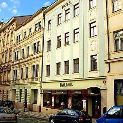 2–4denní pobyt pro 2 osoby se snídaněmi v hotelu Dalimil v Praze