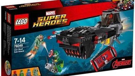 Stavebnice Lego® Super Heroes 76048 Útok s ponorkou Iron Skulla