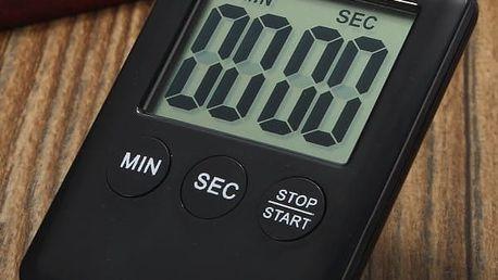 Digitální minutka s LCD displejem - dodání do 2 dnů