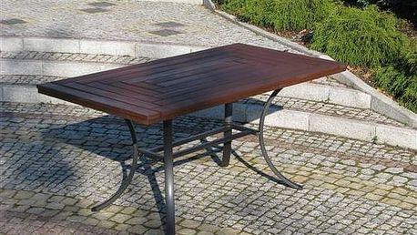 Stůl Rojaplast Wellington černý