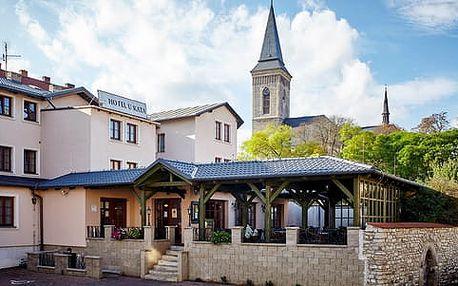 Kutná Hora na 3 až 4 dny se snídaní a lázeňskou procedurou v Hotelu U Kata***