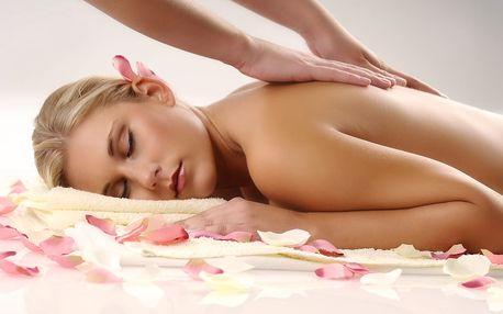 20min. rašelinový nebo parafínový zábal + 40min. masáž zad, krku a šíje pro úlevu od bolesti