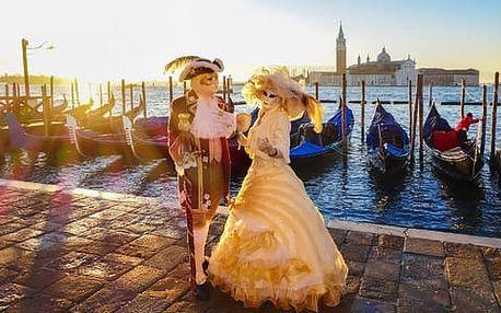 Romantické Benátky v období tradičních karnevalových oslav