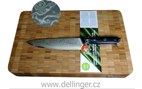 Sada nože a prkénka japonské kvality