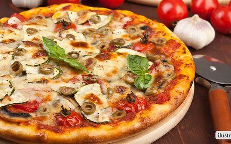 Křupavá pizza v centru Prahy
