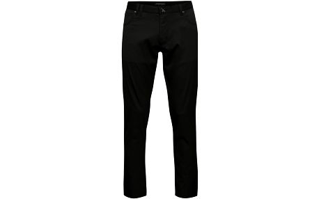Černé pánské slim fit kalhoty Pietro Filipi