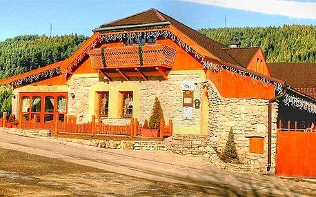 3–6denní pobyt pro 2 se snídaněmi či polopenzí v penzionu Kamenný Dvor na Slovensku