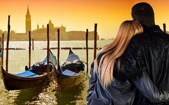 3denní zájezd na svátek svatého Valentýna do italských Benátek pro 1 osobu