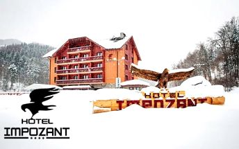 Zimní lyžování nebo jarní turistika v baby friendly hotelu Impozant****
