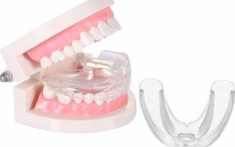 Ortodontická pomůcka pro rovné zuby + pouzdro