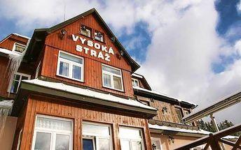 3–6denní pobyt s polopenzí a saunou v pensionu Vysoká Stráž v Peci pod Sněžkou pro 2