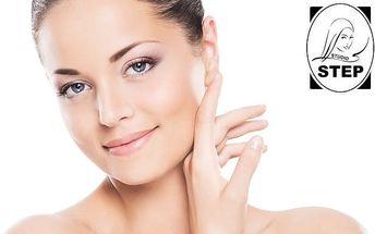 Luxusní kosmetické ošetření včetně ultrazvuku a botox séra ve studiu Step v Praze