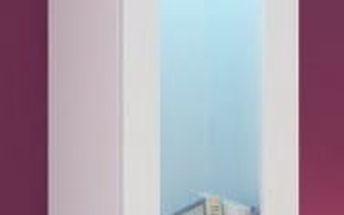 Vigo - Vitrína závěsná, 1x dveře sklo