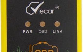 Diagnostické zařízení pro automobily s bluetooth 2.0