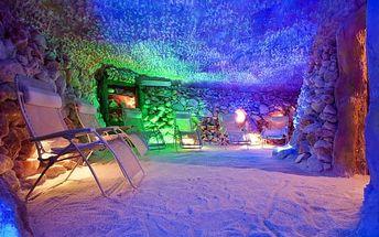 Solná jeskyně: 1 vstup či permanentka na 5 až 15 vstupů pro 1 osobu + dítě do 7 let zdarma