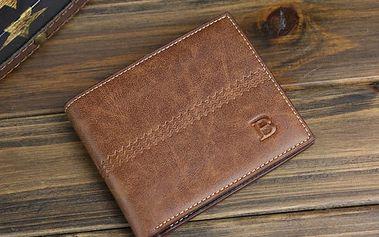 Pánská peněženka bez kapsičky na mince - dodání do 2 dnů