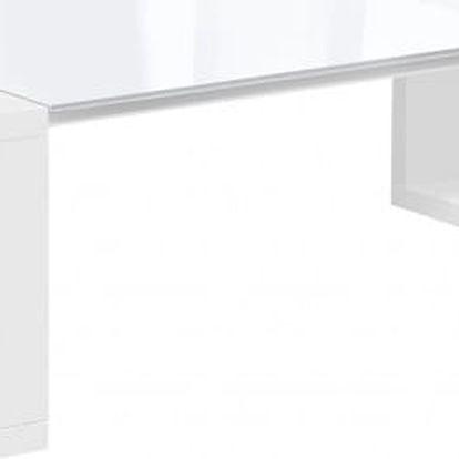 Chase - Konferenční stolek 5727184 (bílá, sklo bílé)