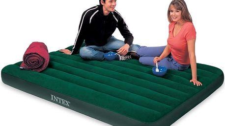 INTEX Queen Downy Bed nafukovací postel 66929 203 x 152 x 22 cm