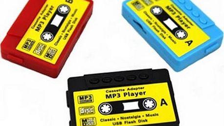 Přehrávač MP3 v designu kazety
