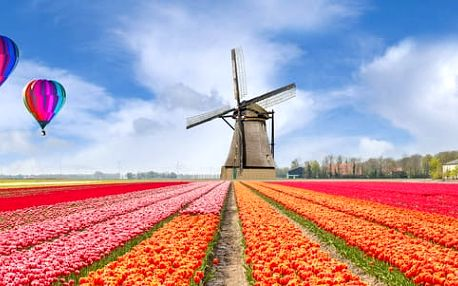 Víkendový zájezd do Holandska, termíny březen - květen 2017