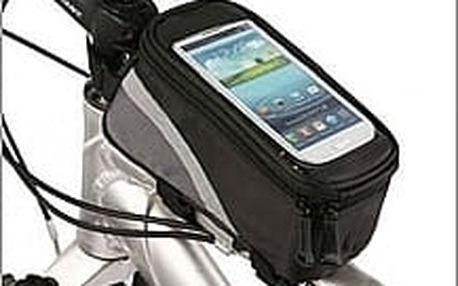 Voděodolné pouzdro na kolo pro Váš smartphone a další potřebné věci. Vhodné pro všechny běžné mobily.