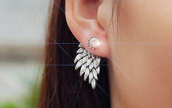 Náušnice s andělskými křídly