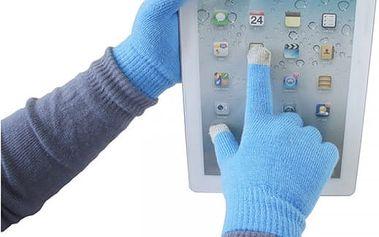 Pletené unisex rukavice na dotykový displej - 8 barev