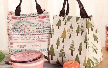 Chladící taška s veselými vzory