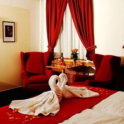 3denní pobyt pro dva v luxusním 4* v Hotelu Slovan****, až 7chodové degustační menu, sauna aj.