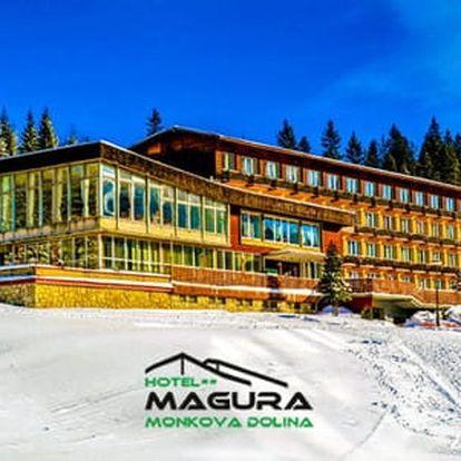 Celoroční pobyty v Hotelu Magura v krásném prostředí Belianských Tater s polopenzí pro 1 osobu + děti do 6 let zdarma včetně stravy