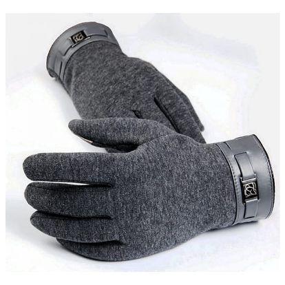 Pánské rukavice na dotykový displej - 3 barvy - dodání do 2 dnů