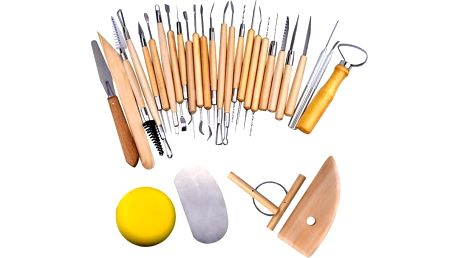 Sada 30 kusů řemeslných nástrojů