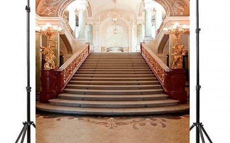 Ateliérové pozadí - Honosné schodiště