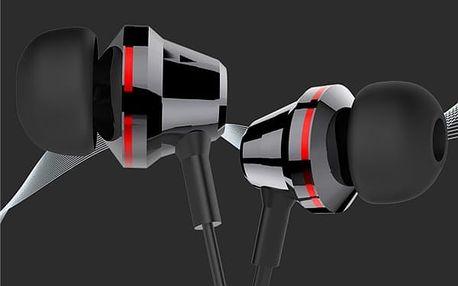 Nadčasová sluchátka s basami a mikrofonem